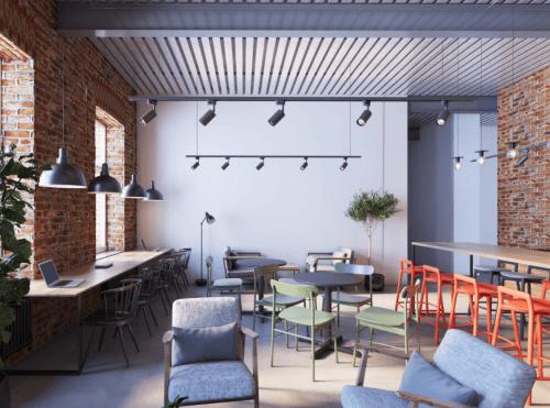 Itea Hub - коворкинг в стиле лофт в центре Харькова • 2021 • RoomRoom 2