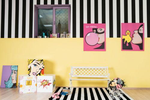Fifties - фотостудия в стиле поп-арт с 3 залами • 2021 • RoomRoom 2
