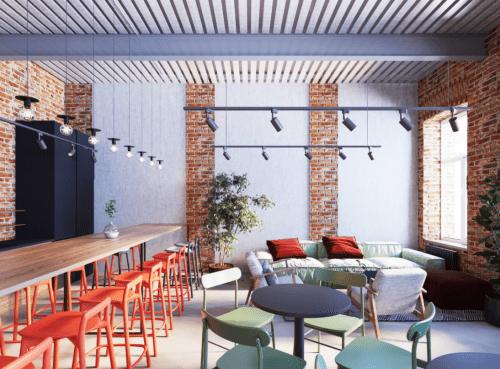 Itea Hub - коворкинг в стиле лофт в центре Харькова • 2021 • RoomRoom 3