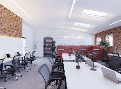 Itea Hub - коворкинг в стиле лофт в центре Харькова • 2021 • RoomRoom 6