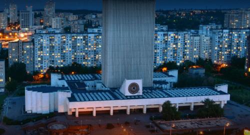 Библиотека им. Вернадского - уникальная советская архитектура • 2021 • RoomRoom 12