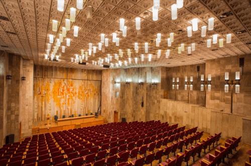 Библиотека им. Вернадского - уникальная советская архитектура • 2021 • RoomRoom 11