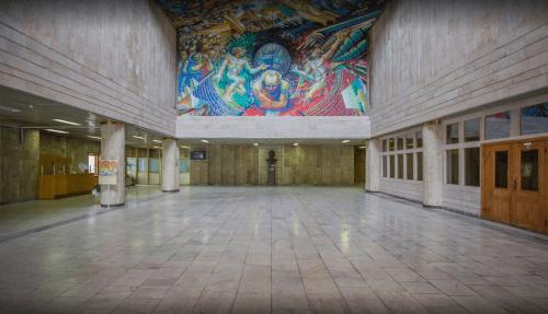 Библиотека им. Вернадского - уникальная советская архитектура • 2021 • RoomRoom 15