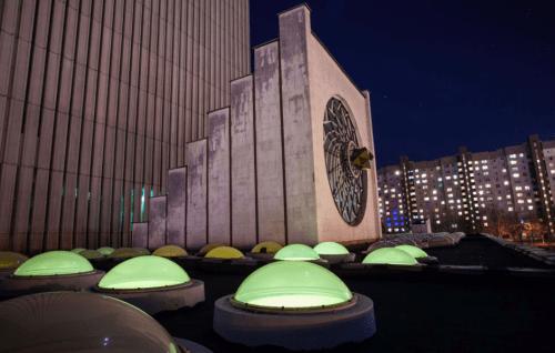 Библиотека им. Вернадского - уникальная советская архитектура • 2021 • RoomRoom 14