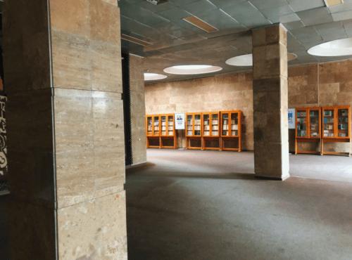 Библиотека им. Вернадского - уникальная советская архитектура • 2021 • RoomRoom 9