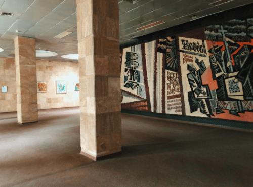 Библиотека им. Вернадского - уникальная советская архитектура • 2021 • RoomRoom 10