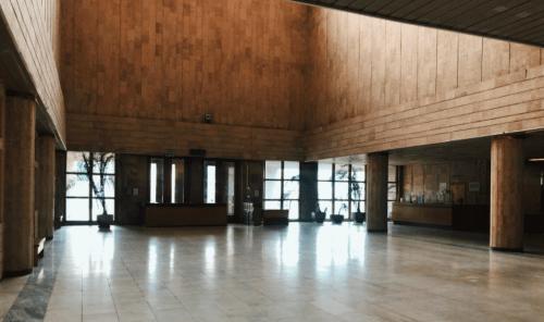 Библиотека им. Вернадского - уникальная советская архитектура • 2021 • RoomRoom 6