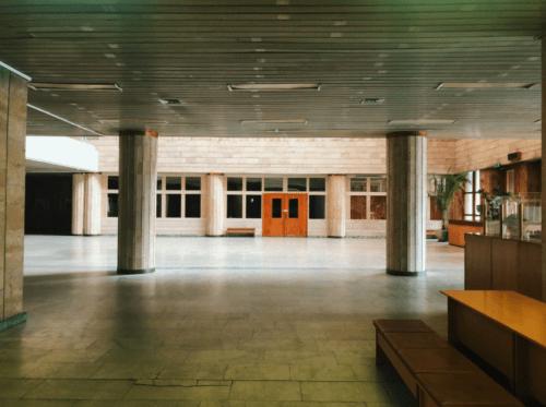 Библиотека им. Вернадского - уникальная советская архитектура • 2021 • RoomRoom 7