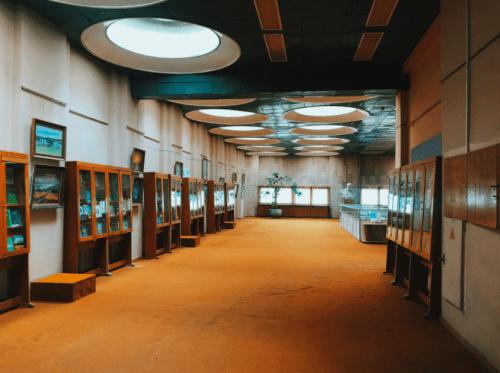 Библиотека им. Вернадского - уникальная советская архитектура • 2021 • RoomRoom 4