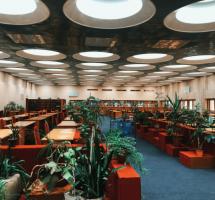 читальный зал библиотека вернадского
