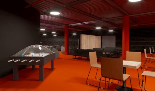 The Space - 5500 м2 коворкинга с игровым баром • 2021 • RoomRoom 7