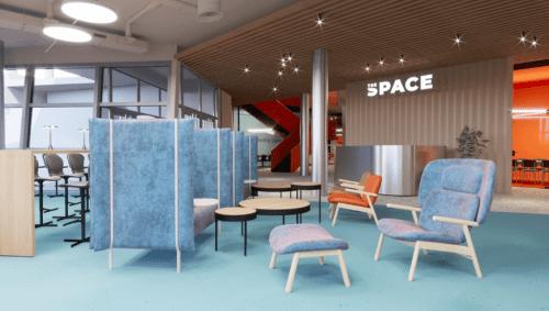 The Space - 5500 м2 коворкинга с игровым баром • 2021 • RoomRoom 13
