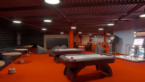 The Space - 5500 м2 коворкинга с игровым баром • 2021 • RoomRoom 15