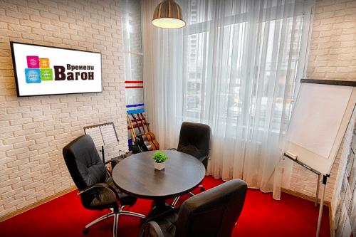 Времени вагон - пространство для работы и отдыха • 2020 • RoomRoom 9