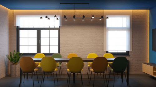 Beeworking Podil - инновационный 5-этажный коворкинг • 2021 • RoomRoom 10