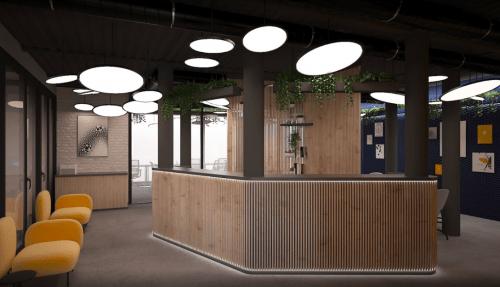 Beeworking Podil - инновационный 5-этажный коворкинг • 2021 • RoomRoom 11