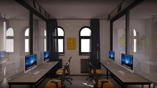 Beeworking Podil - инновационный 5-этажный коворкинг • 2021 • RoomRoom 15