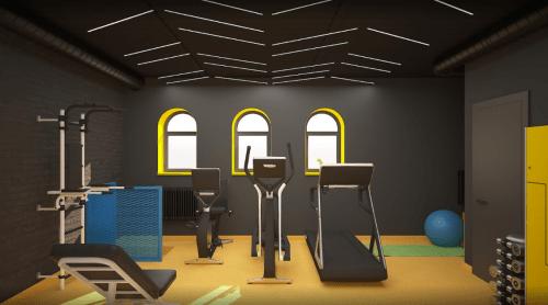 Beeworking Podil - инновационный 5-этажный коворкинг • 2021 • RoomRoom 12