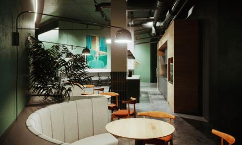 Beeworking Golosiiv - коворкинг с библиотекой на крыше • 2021 • RoomRoom 10