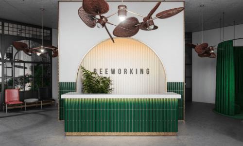 Beeworking Golosiiv - коворкинг с библиотекой на крыше • 2021 • RoomRoom 11