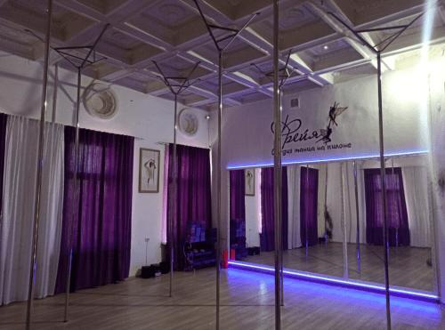 Фрейя - танцевальная студия с пилонами и полотнами • 2021 • RoomRoom 2