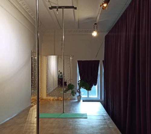 Фрейя - танцевальная студия с пилонами и полотнами • 2021 • RoomRoom 3