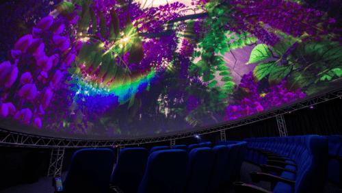 Teleport 360 - необычный купольный кинотеатр • 2021 • RoomRoom 3