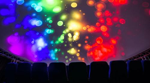 Teleport 360 - необычный купольный кинотеатр • 2021 • RoomRoom 4
