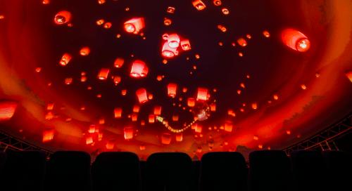 Teleport 360 - необычный купольный кинотеатр • 2021 • RoomRoom 5