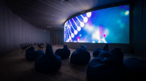 Teleport 360 - необычный купольный кинотеатр • 2021 • RoomRoom 8