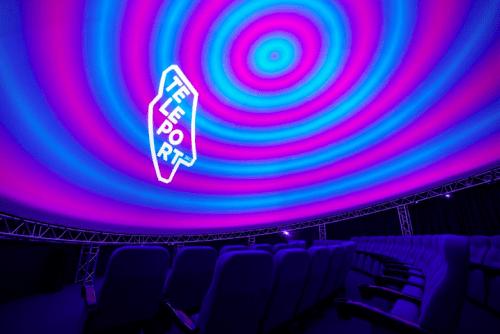 Teleport 360 - необычный купольный кинотеатр • 2021 • RoomRoom 1