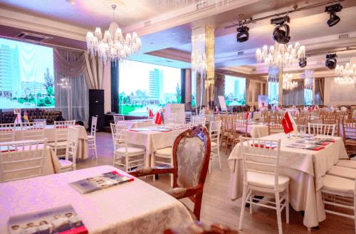 Atlantic Garden Resort - 5 стильных конференц залов и комната переговоров • 2021 • RoomRoom 2