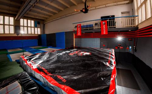Ducks - спортивный комплекс с батутами и экстрим зоной • 2021 • RoomRoom 7