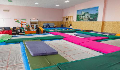 Jumping Hall - батутный зал и 2 зала с татами на Берестейской • 2021 • RoomRoom 1