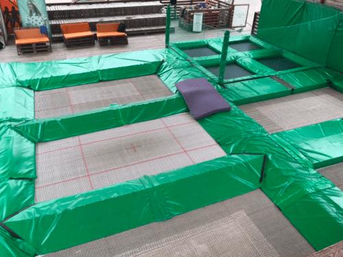 Jumping Hall - батутная площадка в X-Park • 2021 • RoomRoom 1