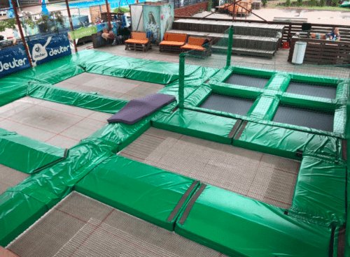 Jumping Hall - батутная площадка в X-Park • 2021 • RoomRoom 2