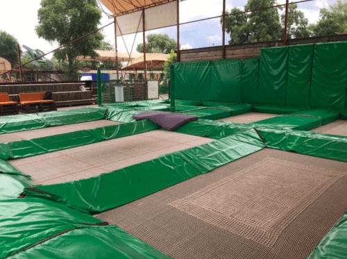 Jumping Hall - батутная площадка в X-Park • 2021 • RoomRoom 3