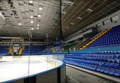 Дворец Спорта - главная национальная арена Киева • 2021 • RoomRoom 12