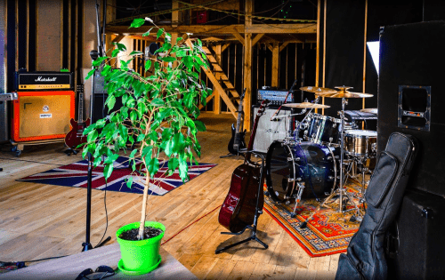 Bright Sound - 2 репетиционных зала в лофт стиле • 2021 • RoomRoom 3